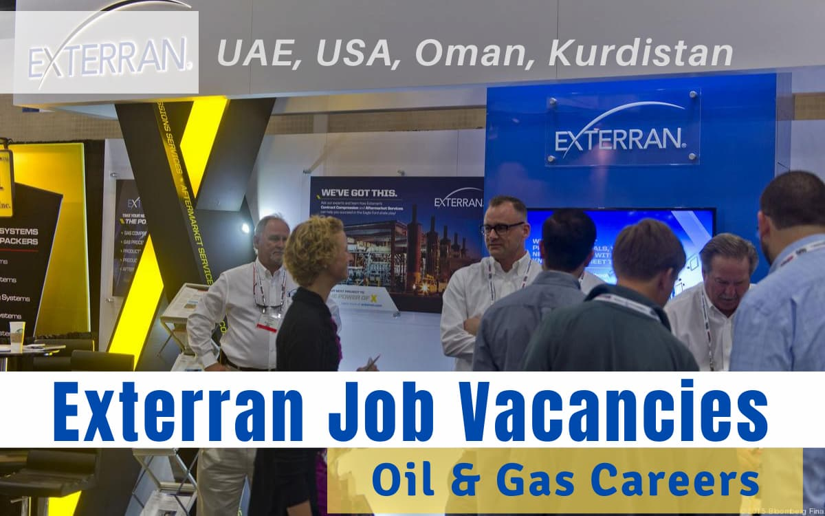 Exterran Job Vacancies