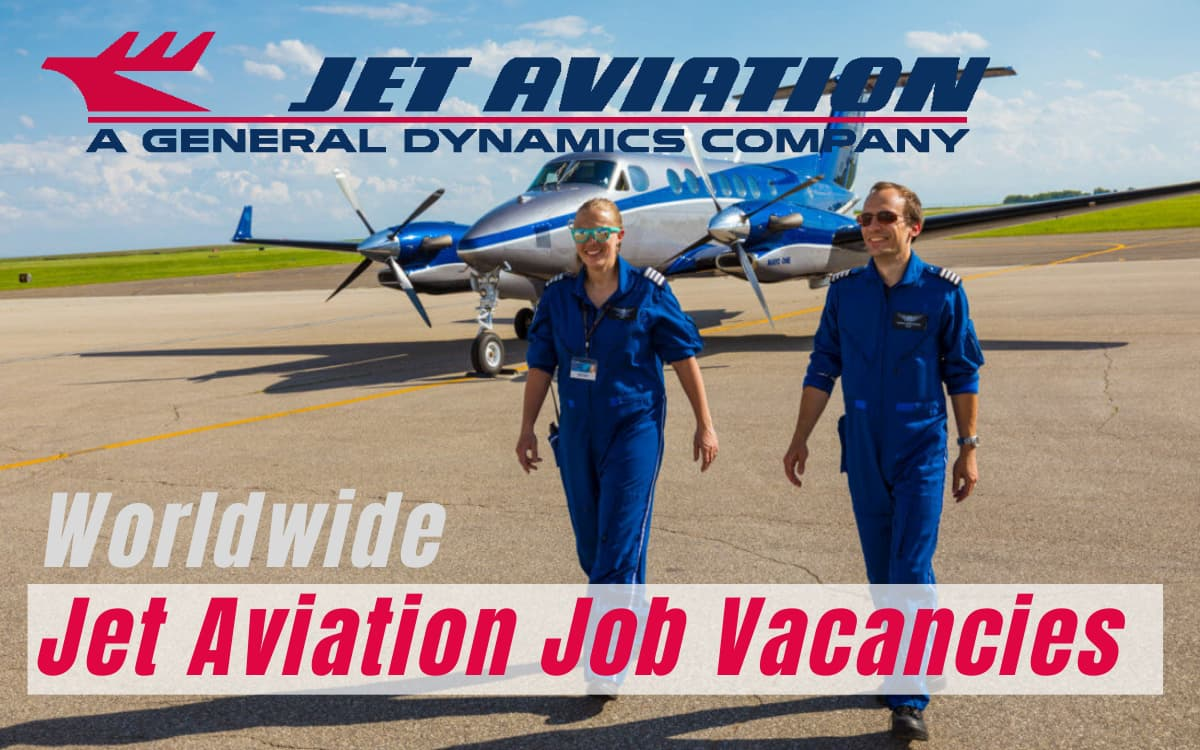 Jet Aviation Job Vacancies