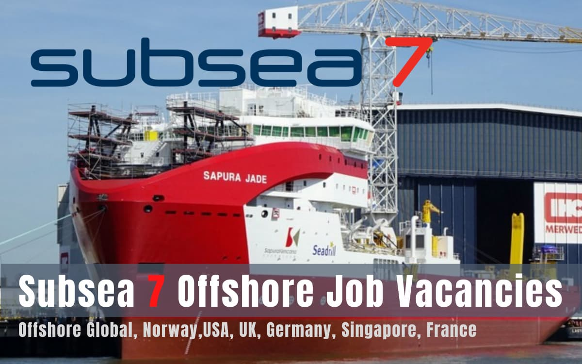 Subsea 7 Offshore Job Vacancies