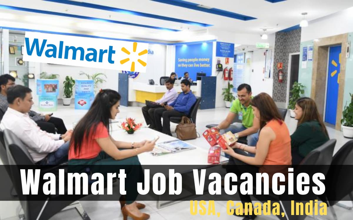 Walmart Job Vacancies
