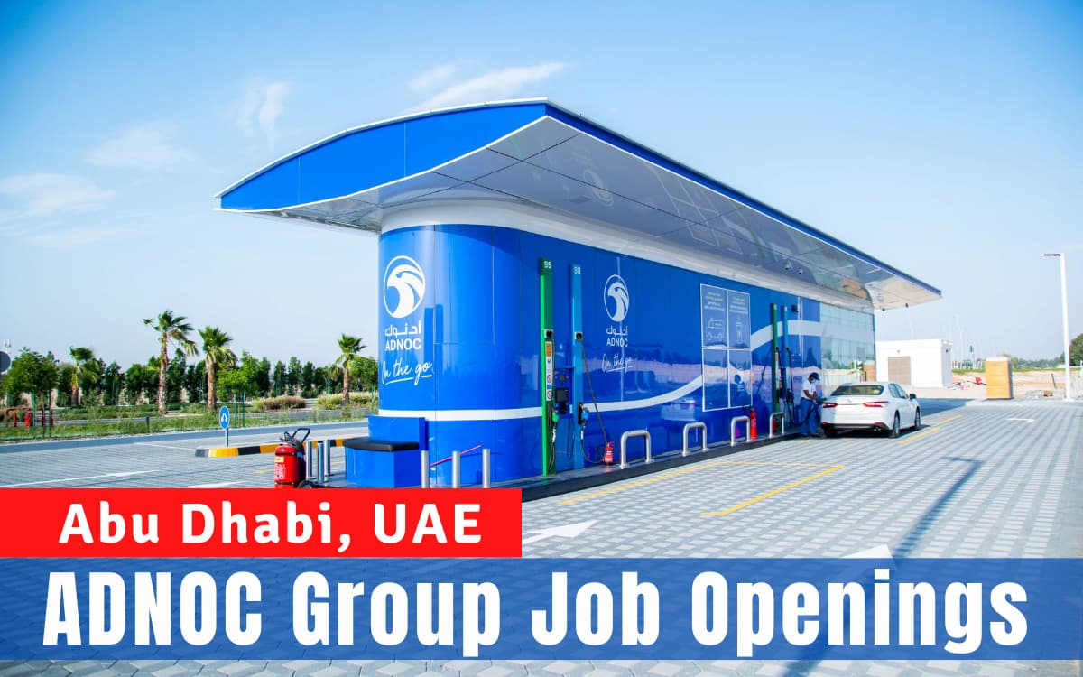 ADNOC Group Careers and Jobs.