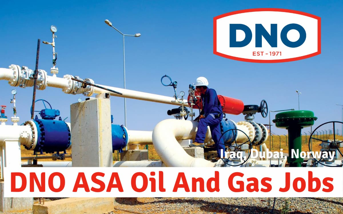 DNO ASA Oil and Gas Careers